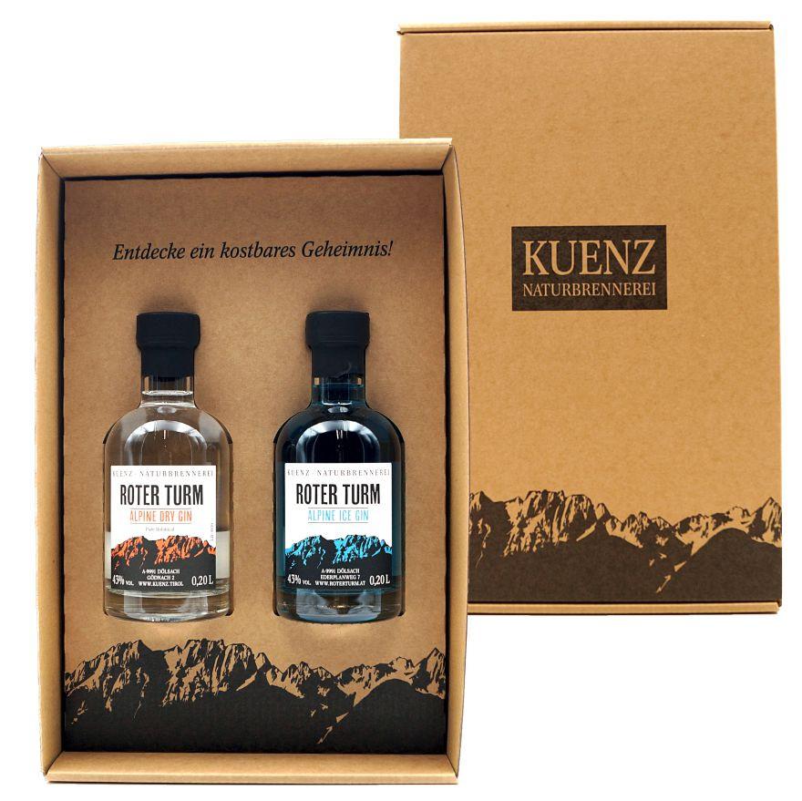 Box 6 - Dry / Ice Gin 200ml