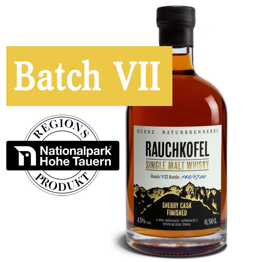 Rauchkofel - Single Malt Whisky Batch VII
