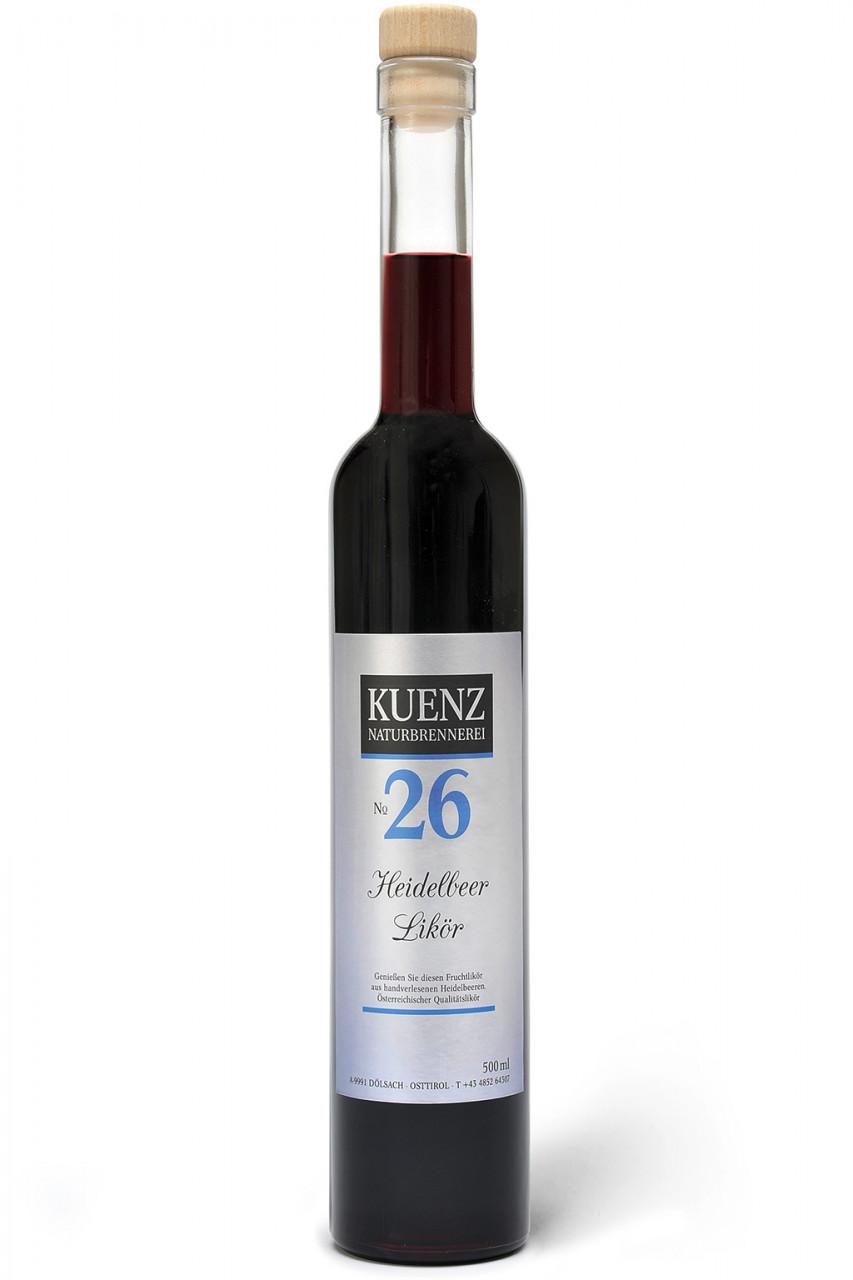 N°26 Heidelbeerlikör