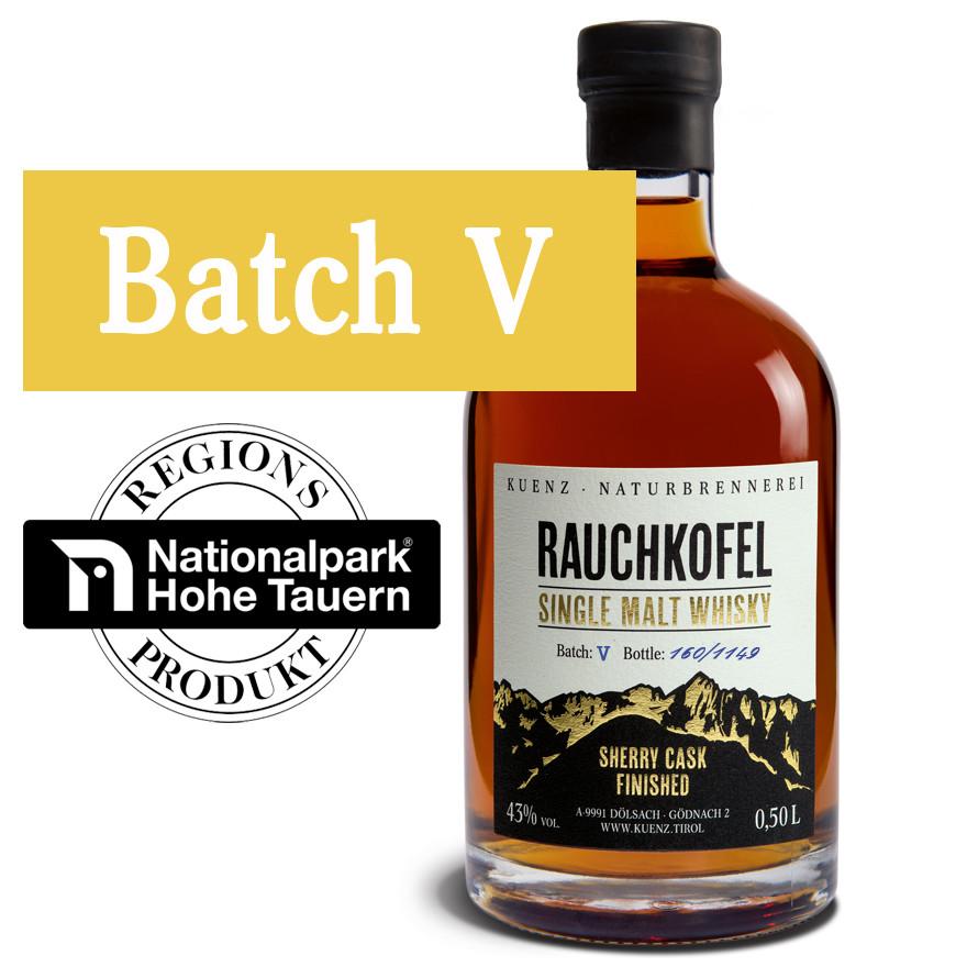 Rauchkofel - Single Malt Whisky Batch V