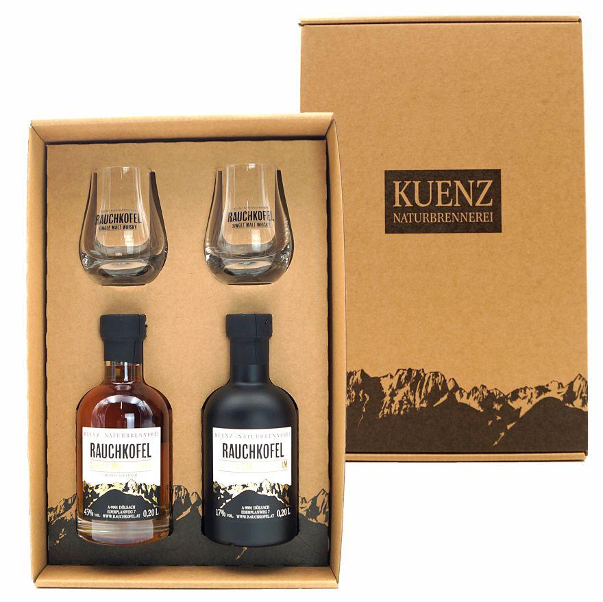 Box 8 - Cream / Whisky 200ml Gläser