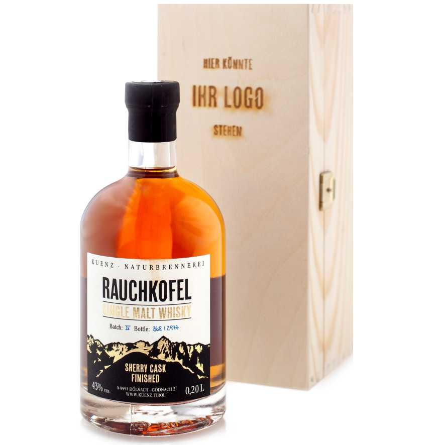 Rauchkofel Whisky Holzbox