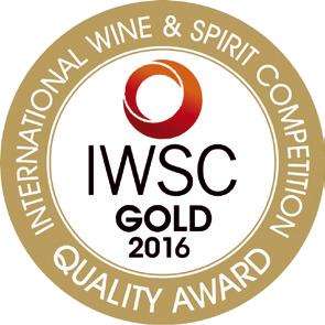 Gold quality award internationa wine spirit 2016