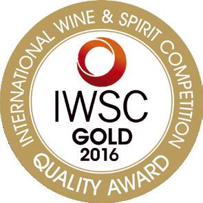Gold quality award internationa wine spirit 2016